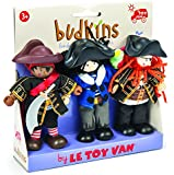 Le Toy Van : Budkins : Set of 3 Buccaneers