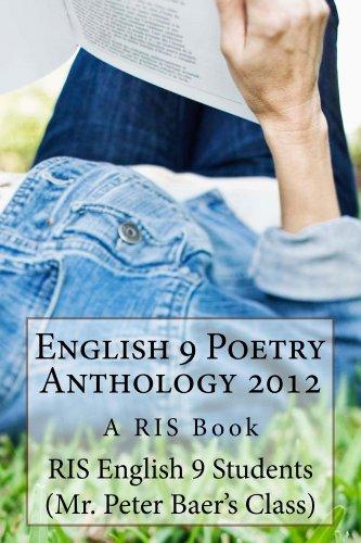 English 9 Poetry Anthology 2012 (English Edition) (Amazon Bär 2012)