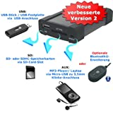 XCarLink 2 USB SD MP3 AUX Adapter - Mazda 2 3 5 6 Miata MX5 MPV RX8 CX7 Premacy