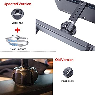 Skyreat Upgrade Aluminum-Alloy 4-12 Inches Foldable Tablet Ipad Mount Holder Metal Nut Ring Mavic 2 Pro,Mavic 2 Zoom/Mavic Air/Pro / DJI Spark Remote Controller