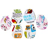 Baby Grow Multi Color Soft Cotton Printed Mittens Set Of 3 Pairs (Multi Color)