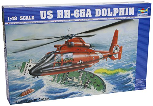 Trumpeter 02801 Modellbausatz Aerospatiale HH-65A Dolphin - Hh-65a Dolphin