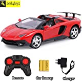 Zest 4 Toyz 1:18 Scale Lamborghini Rechargeable Remote Control Toy Car with Openable Doors and Boot (Assorted)