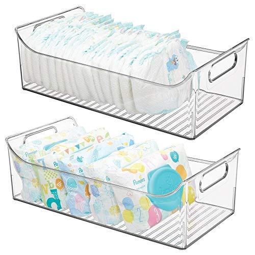 MDesign Juego 2 cestas organizadoras cuarto bebé