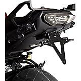 Support de Plaque Yamaha MT-09 Tracer 15-17 noir