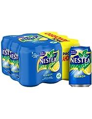 Nestea - Limon, Refresco de té sin gas, 330 ml (Pack de 9), Lata