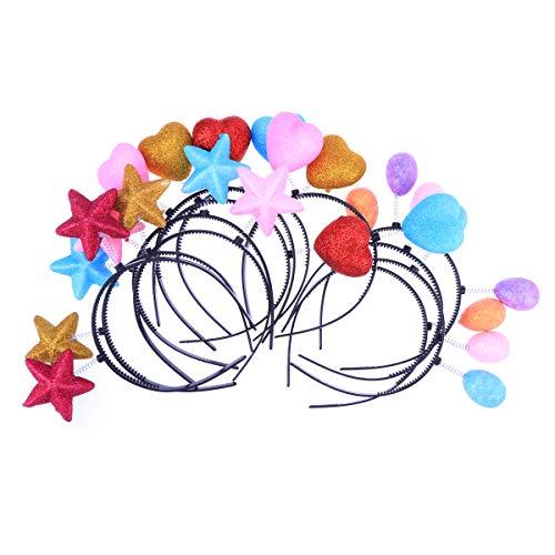 Nette Head Boppers Frühling Haarbänder Lustige Haarband Headwear Partei Liefert Foto Requisiten Geschenk für Kinder ()