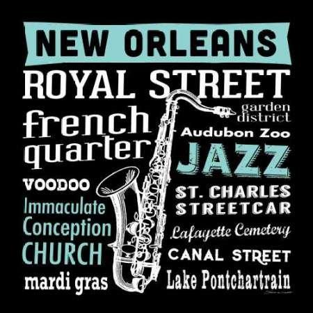 Feeling-at-home-Kunstdruck-New-Orleans-cm60x60-Poster-fuer-Rahmen