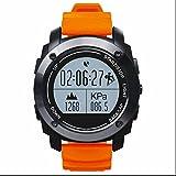 Sport Smartwatch für Surfen,Kajak,Rafting,Segeln,Wandern,Camping,Angeln und Sport Adventurer Digital Smart Watch,Bluetooth 4.0 GPS Sport smart Uhr,Bluetooth Gesundheit Tracker,Schrittzähler Verfolgung Kalorien Gesundheit
