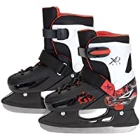 XQ MAX ADJUSTABLE BOYS ICE SKATES ICE SKATING BOOTS SHOES PRO BLADES 3 SIZES