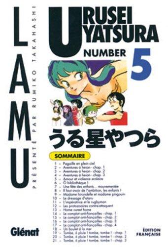 Urusei Yatsura - Lamu Vol.5 par TAKAHASHI Rumiko
