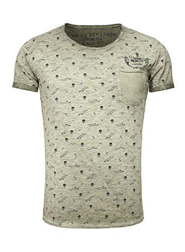 key-largo-herren-t-shirt-t-carolina-round-rundhals-kurzarm-totenkopf-brusttasche-slim-fit-vintage-lo
