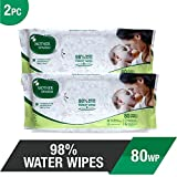 Mother Sparsh Baby Wipes - 98% Water Wip...