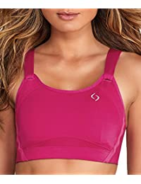 8218ddd2a20e5 Moving Comfort Jubralee Sports Bra Pink