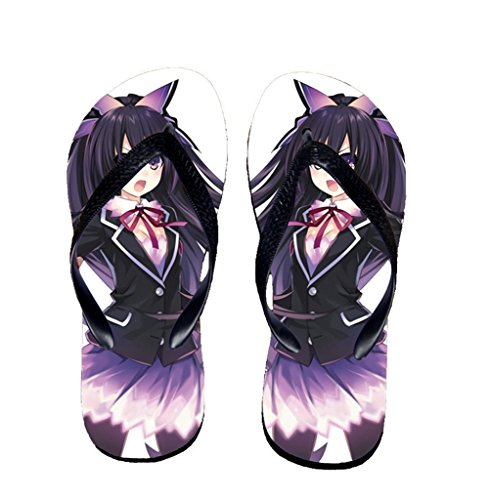 Bromeo Date A Live Anime Unisexe Flip Flops Tongs 457