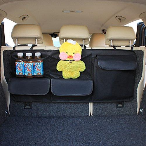 Hcmax auto backseat tronco organizzatore sacchetto per appendere giocattoli per bambini borsa lunga accessori interni per auto per suv vans cars trucks