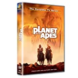 Two astronauts and a sympathetic chimp friend are fugitives in a future Earth dominated by a civilization of humanoid apes.