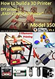 How to build a 3D Printer: DIY project : 'EASY CoreXY 3D Printer Model 350' (English Edition)