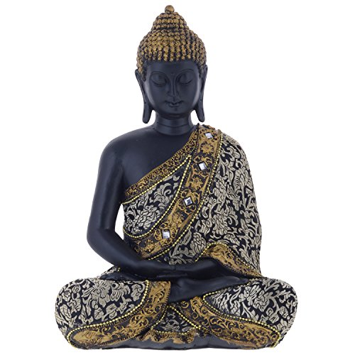 GIFTS N GREETINGS HOME DÉCOR MEDITIATING GAUTAM BUDDHA SHOW PIECE (GNG012)