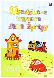Interdruk MAB5UWJ- Libro para Colorear B5 16 cumpleaños Trip of John The Giraffe