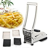 Durable Edelstahl Kartoffel Chip Pommes Frites Maker Cutter Schneide Chipper Chopper