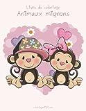 Telecharger Livres Livre de coloriage Animaux mignons 1 (PDF,EPUB,MOBI) gratuits en Francaise
