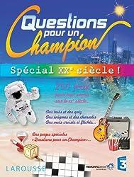 Cahier de jeux Questions pour un Champion, Spécial XXe siècle
