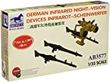 Unbekannt Bronco Models AB3577 - Modellbau Zubehrö German Infrared Night-Vision Devices Infrarot-Scheinwerfer