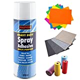 Best Con-Tact Fabric Glues - 500ml Multi-Purpose Spray Adhesive Glue for Craft Carpet Review