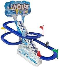 Funny Frisk Jolly Penguin Race Toy, Multi Color for Kids Big Size
