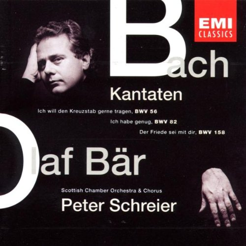 Bach Cantates 56 82 158 [Import USA]