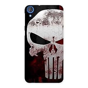 Bleed Red Skull Back Case Cover for HTC Desire 820s