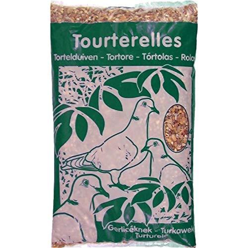 Animalerie Riga - Mélange De Graines pour Tourterelles Coussin 1Kg - Lot De 5 - Vendu par Lot - Livraison Gratuite en France