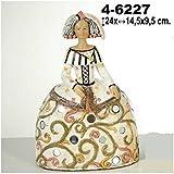 DonRegaloWeb - Figura menina de resina y colores vivos