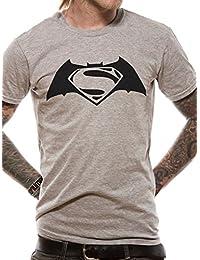 Batman Herren T-Shirts Batman V Superman - Black Logo