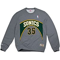 Mitchell & Ness Kevin Durant #35 Seattle SuperSonics Name & Number NBA Crewneck