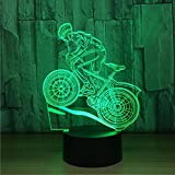 Best Bikes Speakers - DENGS 3D Effect Illusion Lamps Bluetooth Speaker Bike Review