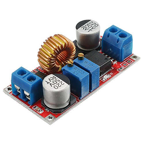 Ils - Output 1.25-36V 5A Constant Current Constant Voltage Lithium Battery Charger Power Supply Module LED Driver High Power Low Ripple High Efficiency Short Circuit Protection Function Low-voltage-audio