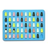 3pezzi in silicone Gummy Bear stampi 150cavities-silicone Gummy Bear Mold Candy Mold, orso stampi, produttore di caramelle, cioccolato orso Mold & # xFF0C; approvato dalla FDA 3confezione di capitolo sette (blu, verde, rosso)