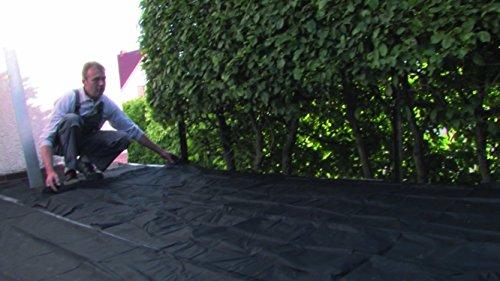 K&R Terracon Planex CP2 Unkrautvlies, schwarz, 10 x 1,5m