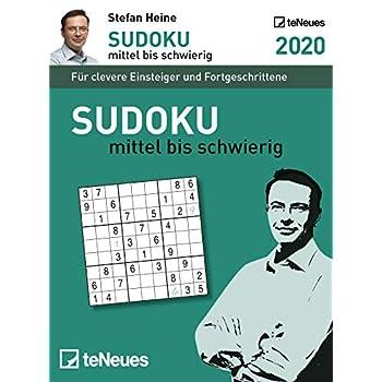 Stefan Heine: Sudoku mittel bis schwierig 2020: Tagesabreißkalender