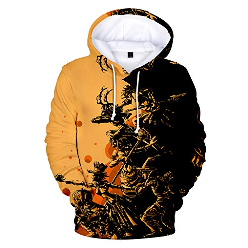 Kostüm Kinderschminken Piraten Für - Overdose Halloween Party Kostüm Unisex 3D Druck Kapuzenpullover Sweatshirts Oberteile BluseKaputzenpullis Leichte Langarmshirt Streetwear Hoody mit Taschen 8 Farben Große Größen