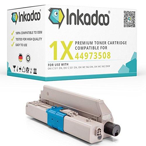 Preisvergleich Produktbild Inkadoo Toner,  44973508,  Premium Drucker-Kartusche Alternativ,  Schwarz,  7000 Seiten