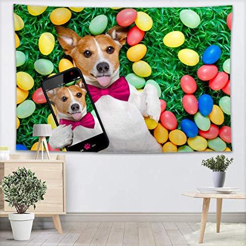FEJK Chihuahua Dog Tapiz Pared Decoraciones hogar