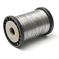 Mieoson Edelstahl Wire Supplies, 500g 0,5 mm Draht Biene Bienenstock Frame Foundation Wire by