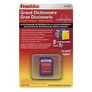 Franklin BFE-500857 Larousse Carte MMC Français / Espagnol 300 000 mots et expressions