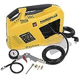Powerplus POWX1702 1100W 180l/min Corriente alterna compresor de aire - compresores de aire (180 l/min, 3550 RPM, 8 bar, 97 dB, Universal, 1100 W)