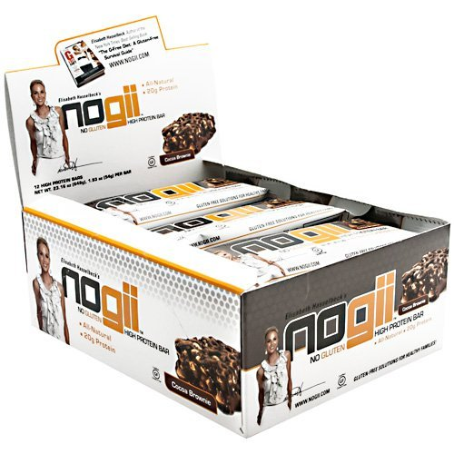NoGii High Protein Bar, Cocoa Brownie by NoGii