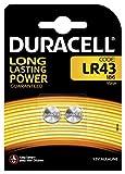 Duracell LR 43 Knopfzellen 2er Pack