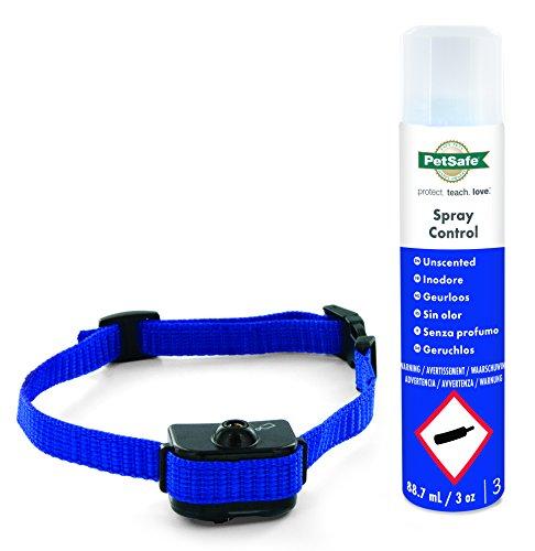 PetSafe Anti Bell Sprühhalsband, umweltfreundliches geruchsloses Spray, Mikrofon Sensor, wetterfest, für kleine Hunde